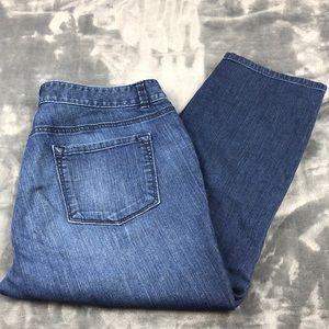 LOFT size 12 Modern Cropped Jeans